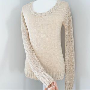 Club Monaco Sweaters - Club Monaco Knit Sweater beige tan cream